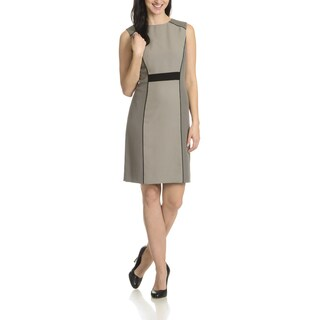Tahari Arthur S. Levine Women's Two-tone Pattern Dress