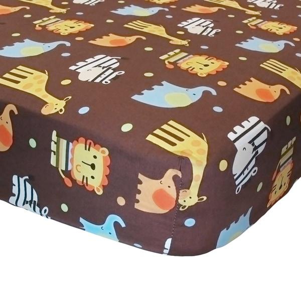 Shop Belle Zuzu And Friends Crib Sheet Free Shipping On