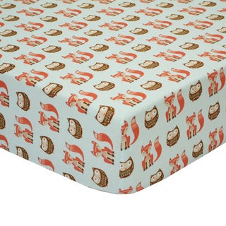 Little Haven Clever Fox Fitted Crib Sheet