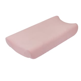 Petit Nest Penelope Solid Pink Jersey Changing Pad Cover