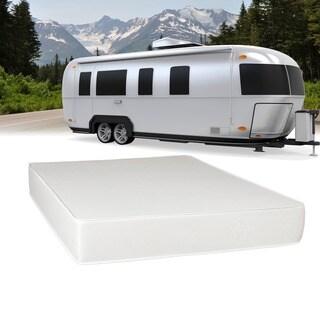 select luxury airflow flippable rv 8inch queen shortsize foam mattress