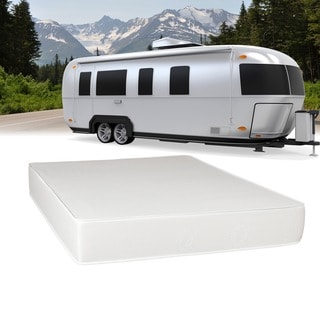 Select Luxury Flippable RV 8-inch Queen-size Foam Mattress
