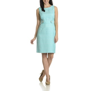 Tahari Arthur S. Levine Women's Boucle Dress