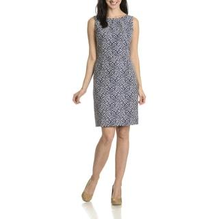 Tahari Arthur S. Levine Women's Cut-Out Back Detail Dress