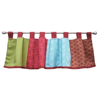 Belle Sports Star Window Curtain Valance