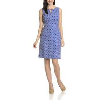Tahari Arthur S. Levine Women's GeoPrint Dress