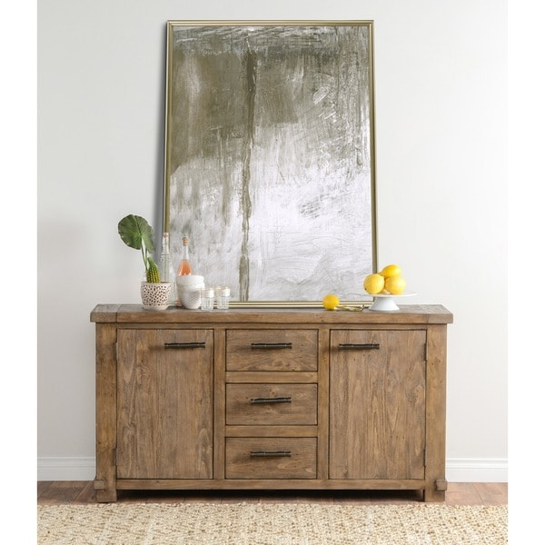 Kasey Natural Reclaimed Wood Sideboard by Kosas Home