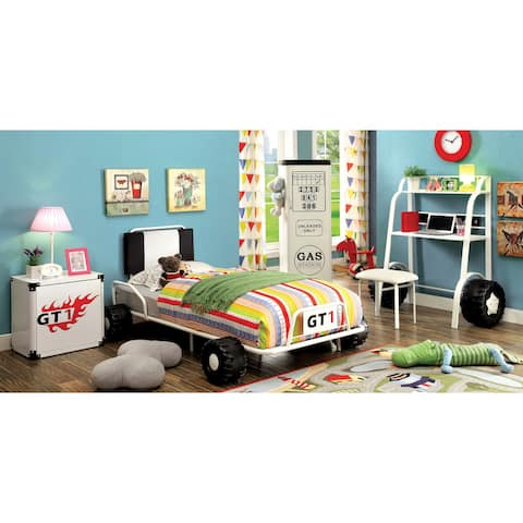 Furniture of America Tere Modern Twin 5-piece Racing Bedroom Set