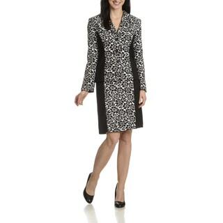 Danillo Women's Floral Pattern 2 piece skirt suit