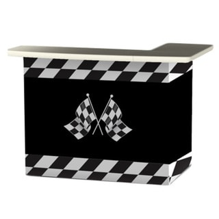 Best of Times Racing Checkered Flag Portable Patio Bar