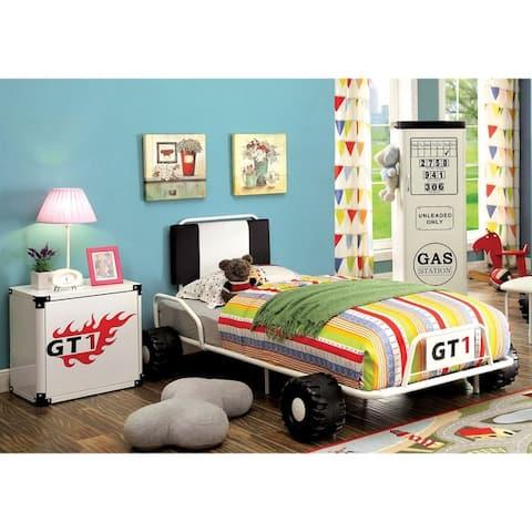 Furniture of America Tere Modern Twin 3-piece Racing Bedroom Set