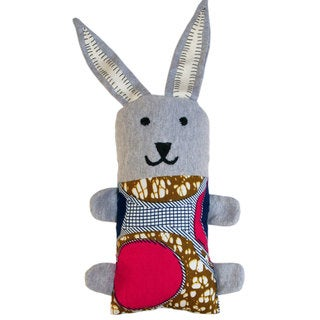 Handcrafted Little Friends Bunny (Malawi)