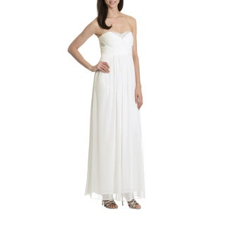 Decode 1.8 Women's Strapless Embellished Bodice Evening Gown
