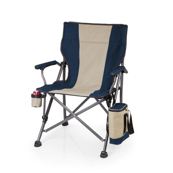 Picnic Time Blue Outlander Camp Chair