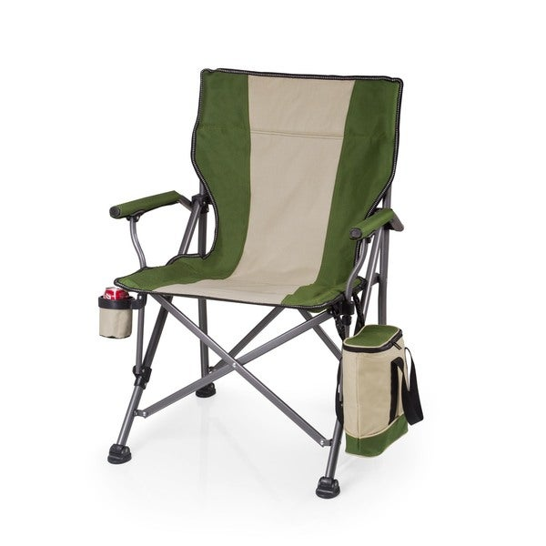 Picnic Time Green Outlander Camp Chair