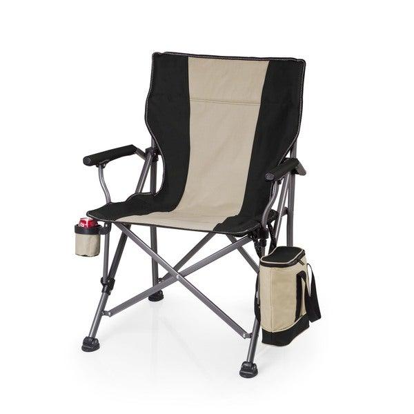 Picnic Time Black Outlander Camp Chair