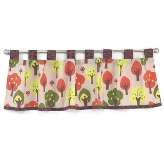 Belle Foxy And Friends Window Curtain Valance