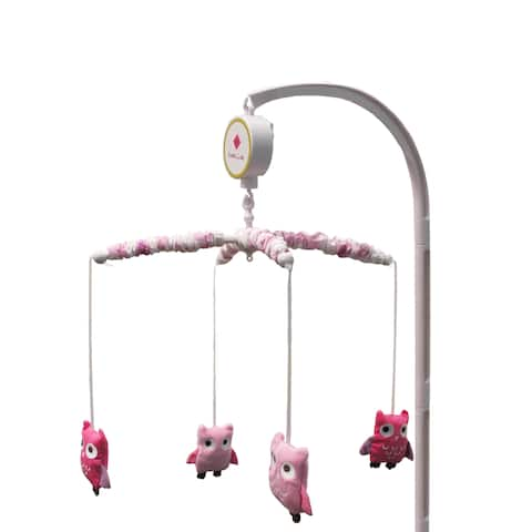 Belle Dancing Owl Musical Mobile