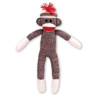 Schylling Schylling Sock Monkey Stuffed Animal