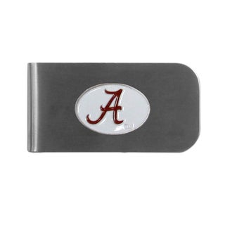 Alabama Crimson Tide Sports Team Logo Bottle Opener Money Clip