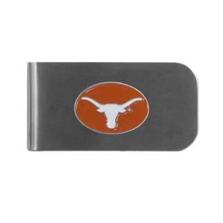 Texas Longhorns Sports Team Logo Bottle Opener Money Clip