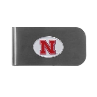 Nebraska Cornhuskers Sports Team Logo Bottle Opener Money Clip