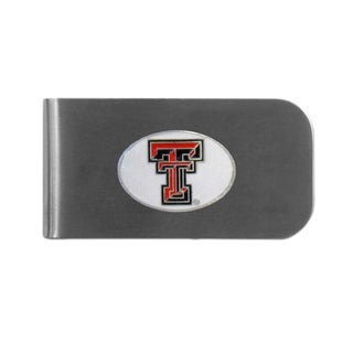 Texas Tech Raiders Sports Team Logo Bottle Opener Money Clip