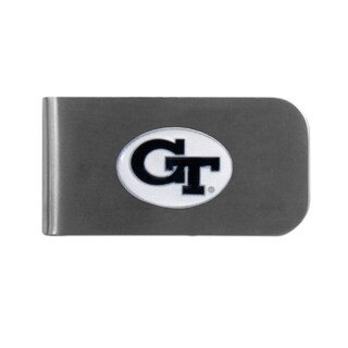 Georgia Tech Yellow Jackets Sports Team Logo Bottle Opener Money Clip