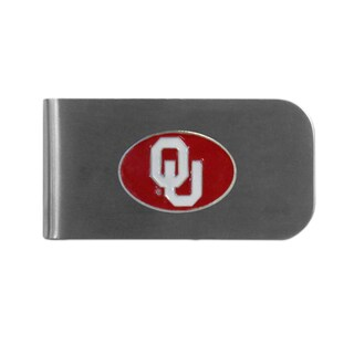 Oklahoma Sooners Sports Team Logo Bottle Opener Money Clip