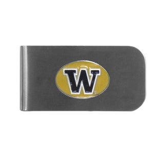 Washington Huskies Sports Team Logo Bottle Opener Money Clip