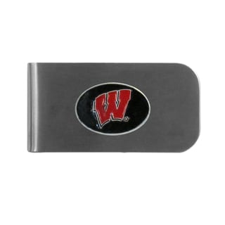 Wisconsin Badgers Sports Team Logo Bottle Opener Money Clip