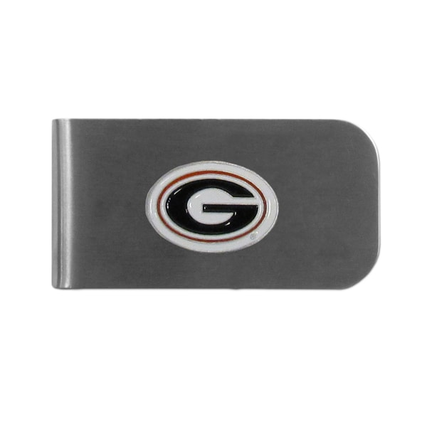 Georgia Bulldogs Sports Team Logo Bottle Opener Money Clip