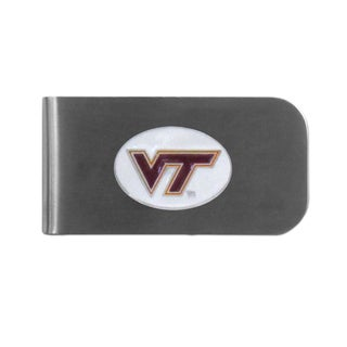 Virginia Tech Hokies Sports Team Logo Bottle Opener Money Clip