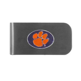 Clemson Tigers Sports Team Logo Bottle Opener Money Clip