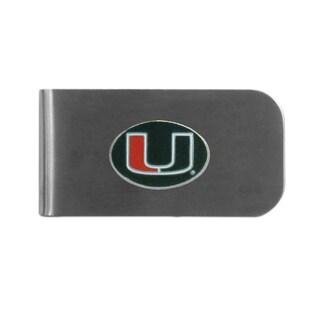 Miami Hurricanes Sports Team Logo Bottle Opener Money Clip