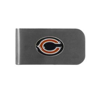 Chicago Bears Sports Team Logo Bottle Opener Money Clip