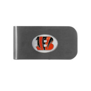 Cincinnati Bengals Sports Team Logo Bottle Opener Money Clip