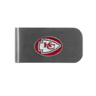 Kansas City Chiefs Sports Team Logo Bottle Opener Money Clip