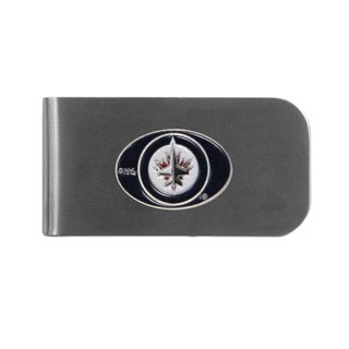 Winnipeg Jets Sports Team Logo Bottle Opener Money Clip