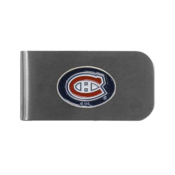 Montreal Canadiens Sports Team Logo Bottle Opener Money Clip