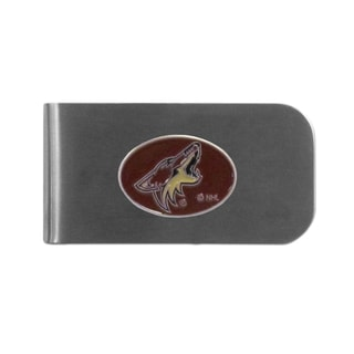 Arizona Coyotes Sports Team Logo Bottle Opener Money Clip