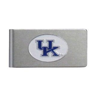 Kentucky Wildcats Sports Team Logo Brushed Metal Money Clip