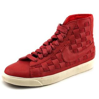 Nike Women's 'Wmns Blazer Mid Woven' Leather Athletic