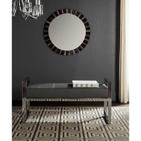 Safavieh Modern Glam Slade Grey Bench