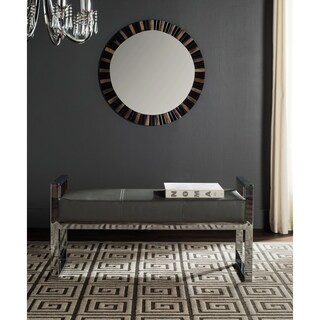 Safavieh Modern Glam Slade Grey Bench
