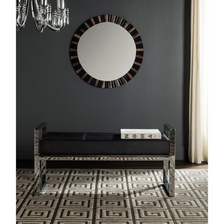 Safavieh Modern Glam Slade Black Bench