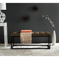 Safavieh Reynlds Tan/ Black Bench