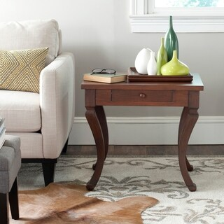 Safavieh Colman Brown Storage Side Table