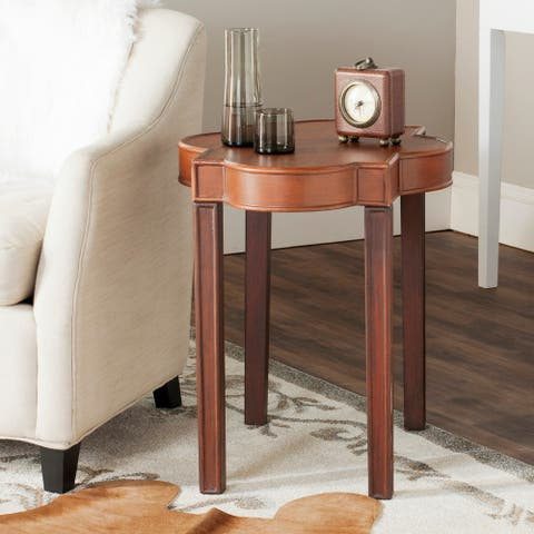 Safavieh Mizel Brown End Table - 0