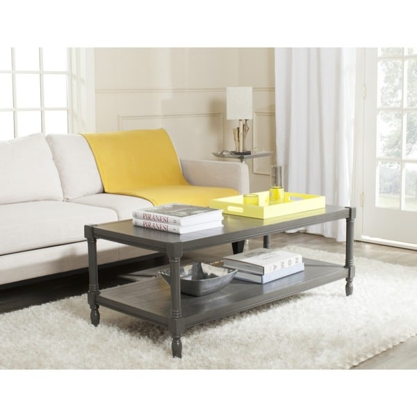 Safavieh Bela Grey Coffee Table